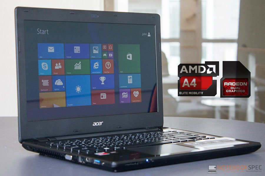 Kekuatan AMD di Laptop Acer Aspire E 15 E5-551G