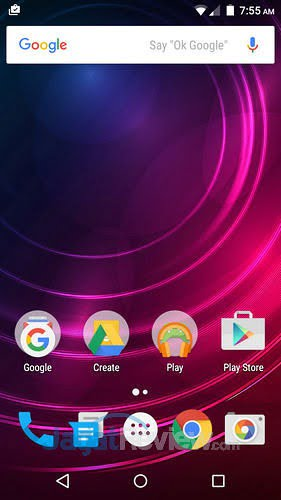 Infinix-Hot-2-Homescreen