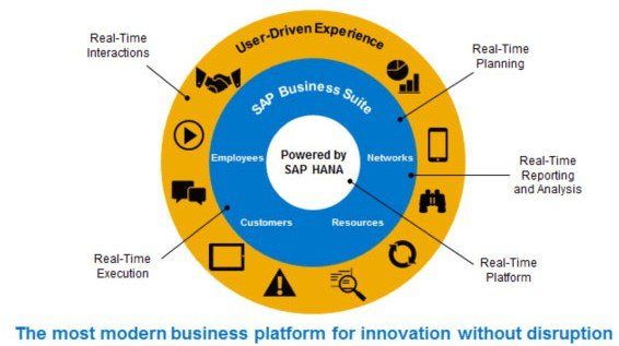 SAP HANA Real-time Power Chart